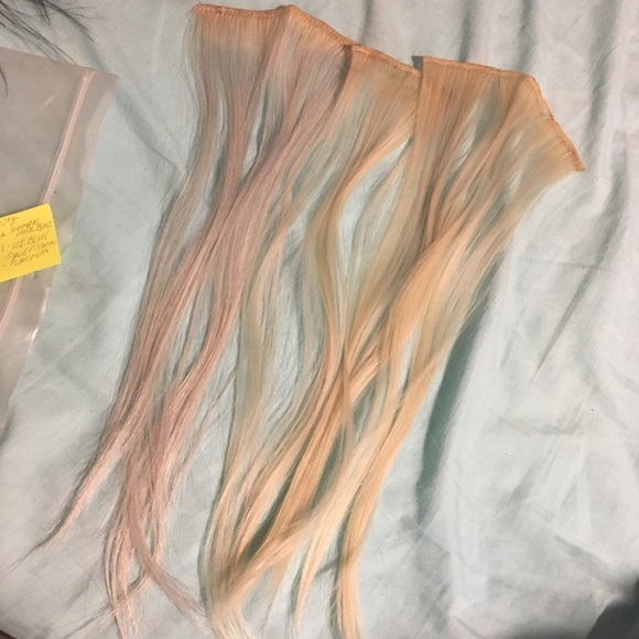 Accessories 3 Pieces Of Pastel Hair Extensions Poshmark